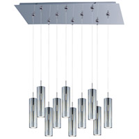 ET2 Scope 10 Light Linear Pendant in Polished Chrome E93951-90PC