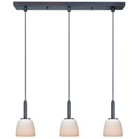 ET2 Carte 3 Light Linear Pendant in Bronze E94013-13 photo thumbnail