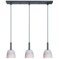 ET2 Carte 3 Light Linear Pendant in Bronze E94013-39