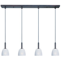 ET2 Carte 4 Light Linear Pendant in Bronze E94014-41