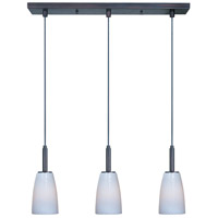 ET2 Carte 3 Light Linear Pendant in Bronze E94043-13