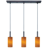 ET2 Carte 3 Light Linear Pendant in Bronze E94053-14