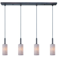 ET2 Carte 4 Light Linear Pendant in Bronze E94054-39