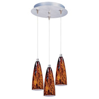 ET2 Minx 3 Light Pendant in Satin Nickel E94643-102SN