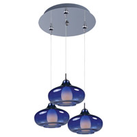 ET2 Minx 3 Light Multi-Light Pendant in Polished Chrome E94648-140PC
