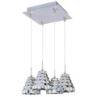 ET2 Minx 4 Light Pendant in Satin Nickel E94701-20SN