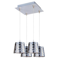 ET2 Minx 4 Light Pendant in Satin Nickel E94702-20SN