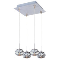 ET2 Minx 4 Light Pendant in Satin Nickel E94712-55SN