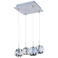 ET2 Minx 4 Light Pendant in Satin Nickel E94713-56SN