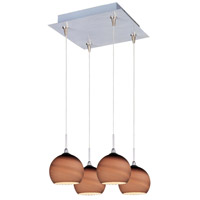 ET2 Minx 4 Light Pendant in Satin Nickel E94715-56SN