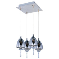 ET2 Minx 4 Light Pendant in Satin Nickel E94726-11SN