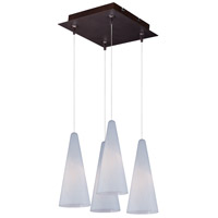 Minx 4 Light 11 inch Bronze Multi-Light Pendant Ceiling Light