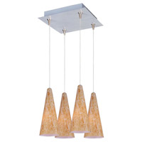 ET2 Minx 4 Light Pendant in Satin Nickel E94730-103SN