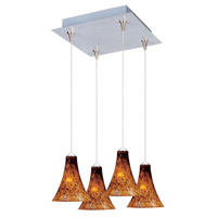 ET2 Minx 4 Light Pendant in Satin Nickel E94733-104SN