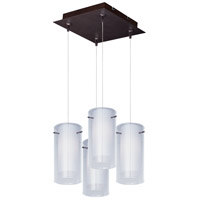 ET2 Frost RapidJack Multi-Light Pendant in Bronze E94744-10BZ