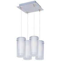 ET2 Frost 4 Light Pendant in Satin Nickel E94744-10SN