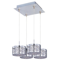 ET2 Inca 4 Light Pendant in Polished Chrome E94745-10PC