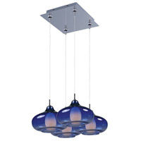 ET2 Minx 4 Light Multi-Light Pendant in Polished Chrome E94748-140PC