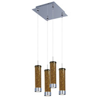 ET2 Chroma 4 Light Multi-Light Pendant in Polished Chrome E94750-05PC