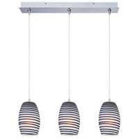 ET2 Minx 3 Light Linear Pendant in Satin Nickel E94804-51SN