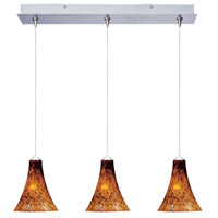 ET2 Minx 3 Light Linear Pendant in Satin Nickel E94833-104SN