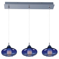 ET2 Minx 3 Light Linear Pendant in Polished Chrome E94848-140PC