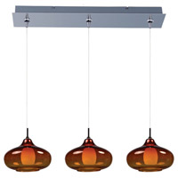 ET2 Minx 3 Light Linear Pendant in Polished Chrome E94848-141PC
