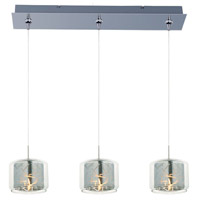 ET2 Minx 3 Light Linear Pendant in Polished Chrome E94849-146PC