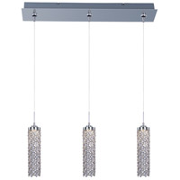Shanell LED 24 inch Polished Chrome Multi-Light Pendant Ceiling Light