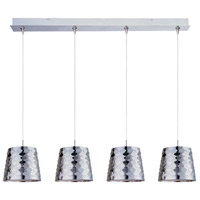 ET2 Minx 4 Light Linear Pendant in Satin Nickel E94902-20SN