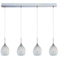 ET2 Minx 4 Light Linear Pendant in Satin Nickel E94905-20SN