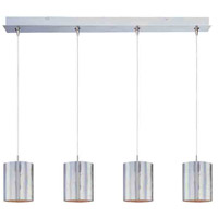 ET2 Minx 4 Light Linear Pendant in Satin Nickel E94907-69SN