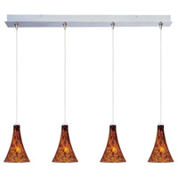 ET2 Minx 4 Light Linear Pendant in Satin Nickel E94931-104SN