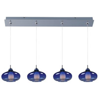 ET2 Minx 4 Light Linear Pendant in Polished Chrome E94948-140PC