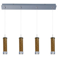 ET2 Chroma 4 Light Linear Pendant in Polished Chrome E94950-05PC