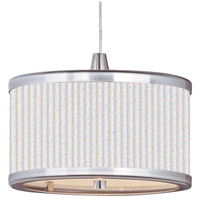 ET2 Elements 1 Light Mini Pendant in Satin Nickel E95050-102SN