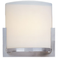 Elements 1 Light 7 inch Satin Nickel Wall Sconce Wall Light in Satin White