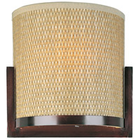 ET2 E95088-101OI Elements 2 Light 11 inch Oil Rubbed Bronze ADA Wall Sconce Wall Light in Grass Cloth