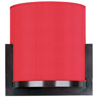 Elements 2 Light 11 inch Oil Rubbed Bronze Wall Sconce Wall Light in White Leopard, Crimson Silk