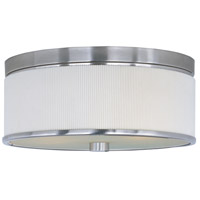 ET2 Elements 3 Light Flush Mount in Satin Nickel E95102-102SN