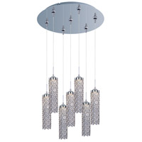 Shanell LED 17 inch Polished Chrome Multi-Light Pendant Ceiling Light