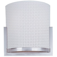 ET2 E95188-100SN Elements 2 Light 11 inch Satin Nickel ADA Wall Sconce Wall Light in White Weave