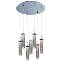 Bianca LED 17 inch Polished Chrome Multi-Light Pendant Ceiling Light