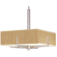 ET2 Elements 3 Light Pendant in Satin Nickel E95345-101SN