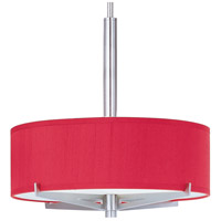 ET2 Elements 3 Light Pendant in Satin Nickel E95405-105SN