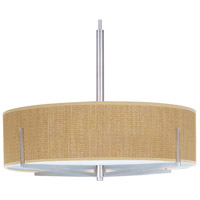 ET2 Elements 4 Light Pendant in Satin Nickel E95408-101SN