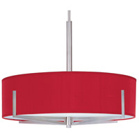 ET2 Elements 4 Light Pendant in Satin Nickel E95408-105SN