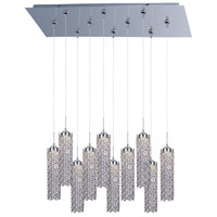 ET2 Shanell 10 Light Linear Pendant in Polished Chrome E95487-20PC