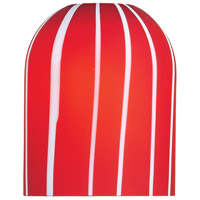 ET2 Carte Pendant Glass in Red EG90903