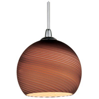 ET2 Minx 1 Light RapidJack Pendant (canopy sold separately) in Satin Nickel EP96015-56SN